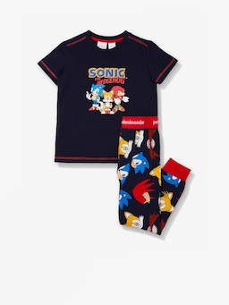Jnr Boys Sonic The Hedgehog Pj Set