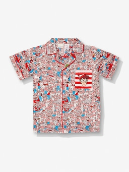 Kids Where's Wally Pj Set