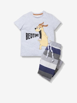 Jnr Boys Bedtime Pj Set