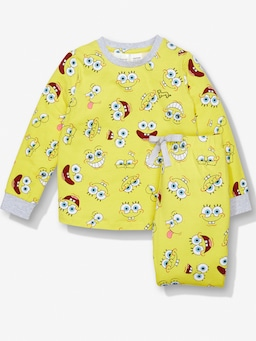 Kids Spongebob Pj Set