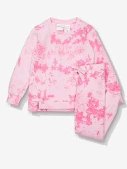 Girls Tie Dye Pj Set
