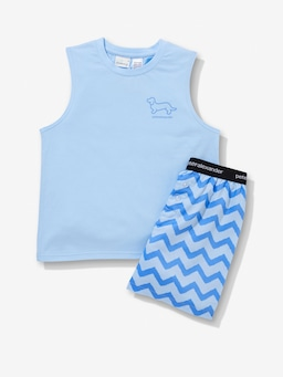 Boys Chevron Pj Set