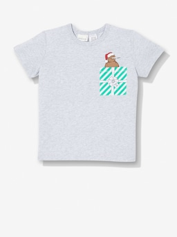 Jnr Kids Kiwi Pocket Tee