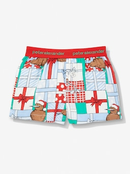 Jnr Kids Kiwi Christmas Cracker Short