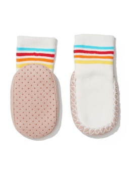Baby Sporty Moccasin Sock