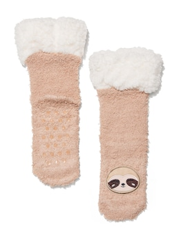 Kids Sloth Cuddle Sock