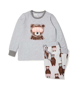 Jnr Kids Junior Bear Pj Set