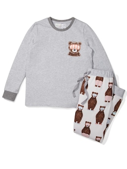 Kids Bear Pj Set