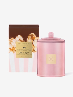 Glasshouse Fragrances Limited Edition Movie Night Candle 380G