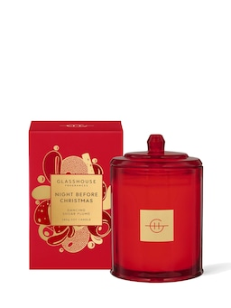 Glasshouse Fragrances Limited Edition Night Before Christmas Candle 380G