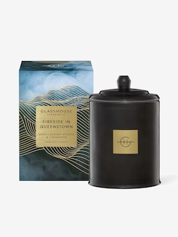 Glasshouse Fragrances Limited Edition Fireside In Queenstown Candle 380G