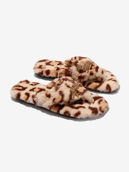Leopard Thongs