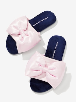 Satin Bow Slide