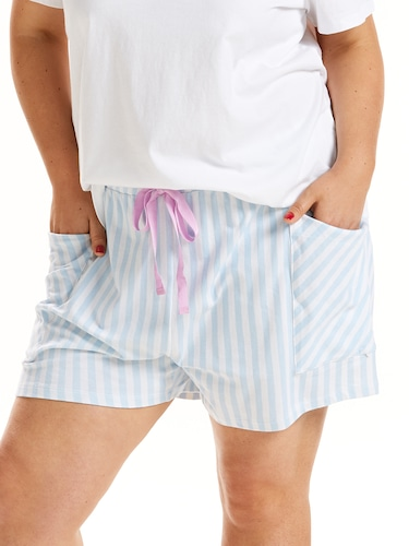 P.A. Plus Stripe Pocket Short
