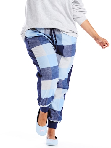 P.A. Plus Buffalo Check Cuff Pj Pant