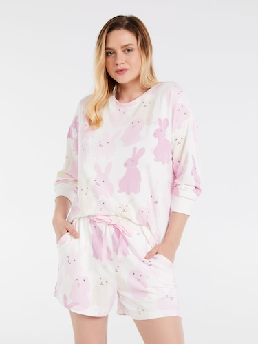 P.A. Plus Mini Tile Fashion Pj Set