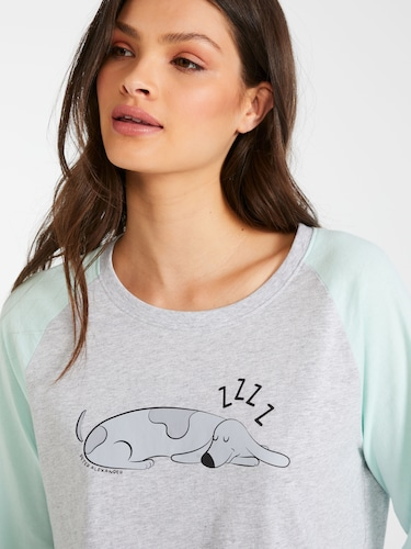Spotty Flannelette Pj Set