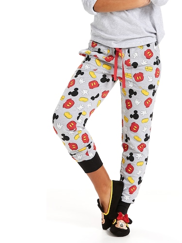 Mickey Mouse Icons Easy Pj Pant
