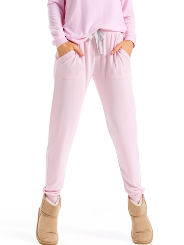 Pink Fuzzy Easy Pj Pant
