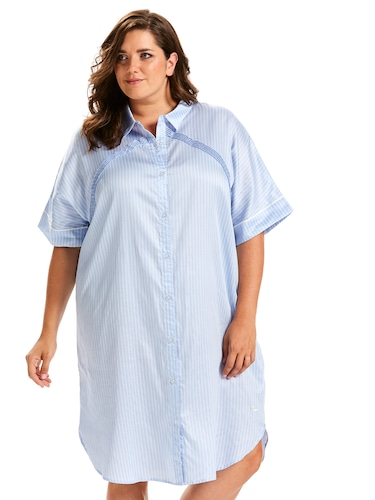 P.A. Plus Ticking Stripe Nightshirt
