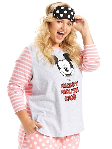 P.A. Plus Mickey Mouse Club Stripe Back Top