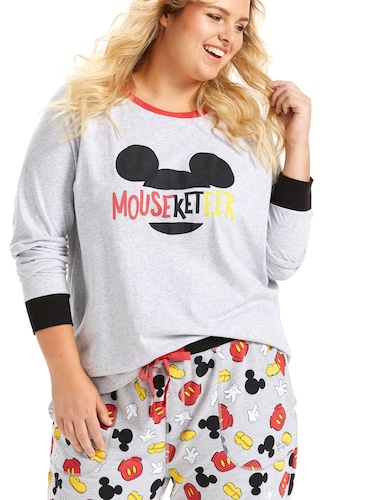 P.A. Plus Mouseketeer Raglan Top