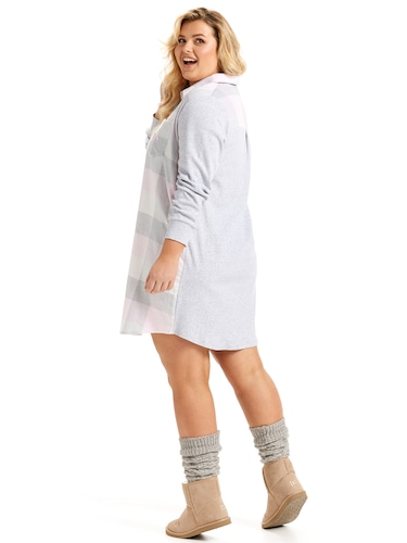 P.A. Plus Buffalo Flannelette Nightshirt