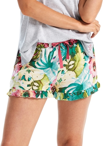 Tropical Frill Short