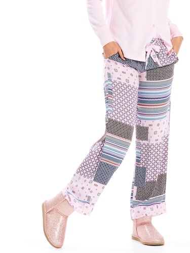 Scarf Paisley Patchwork Classic Pj Pant