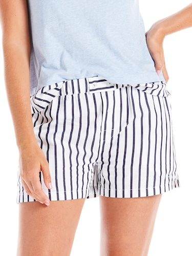 Boyfriend Stripe Short
