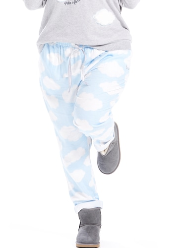 P.A. Plus Cloud Roll Up Flannelette Pj Pant