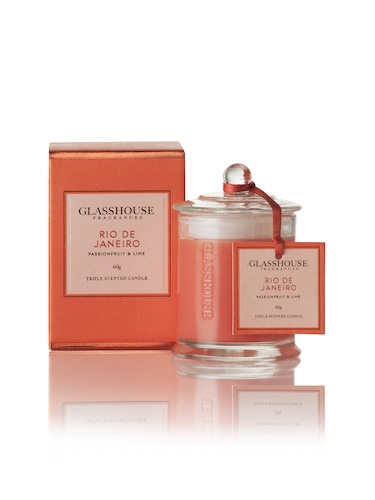 Glasshouse Fragrances Triple-Scented Miniature Candle 60G