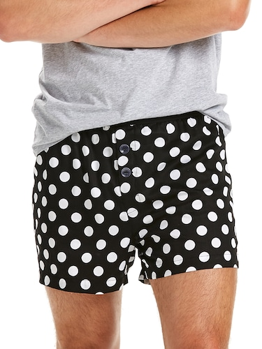 Mens Polka Dot Boxer Short
