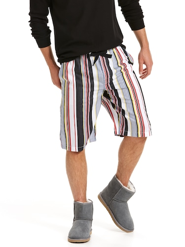 Mens Walt Stripe Sleep Short