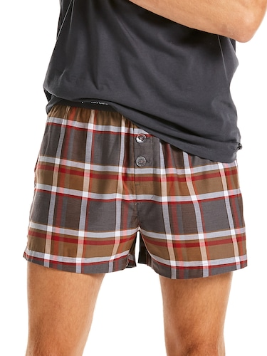 Mens Check Boxer Short