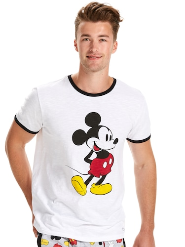 Mens Mickey Ringer Tee