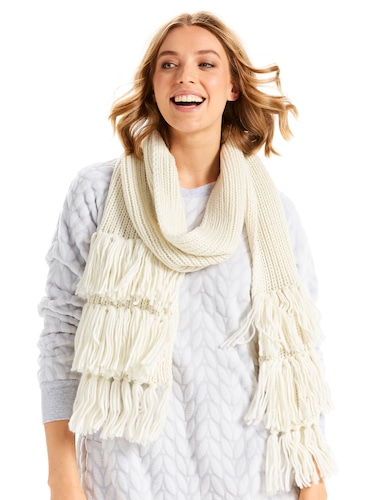 Fringes Long Scarf