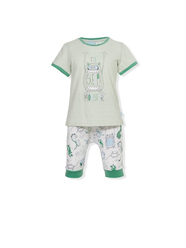 Jnr Boys Monsters Pj Set
