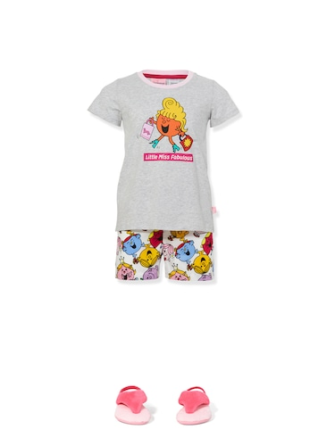 Jnr Girls Little Miss Pj Set