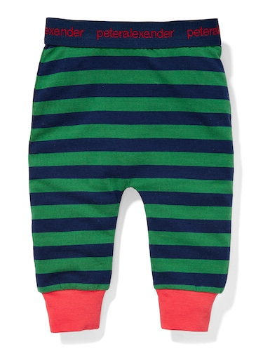 P.A. Play Baby Green Stripe Legging