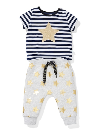 P.A. Play Baby Glitter Star Tee