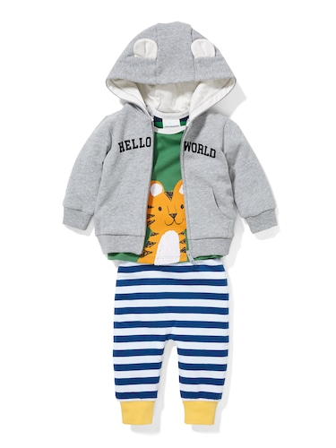 P.A. Play Baby Hello World Hoodie