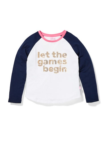 P.A. Play Girls Let The Games Begin Tee
