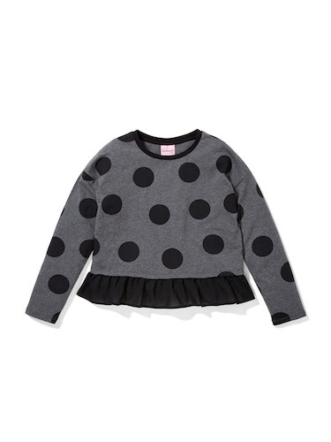 P.A. Play Girls Spotty Frill Top