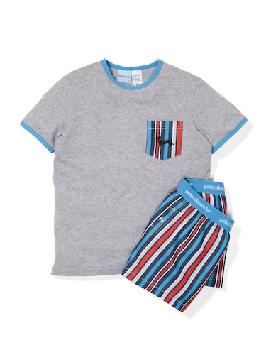 Boys Stripe Pj Set