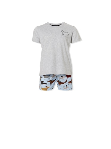 Jnr Boys Doggy Pj Set