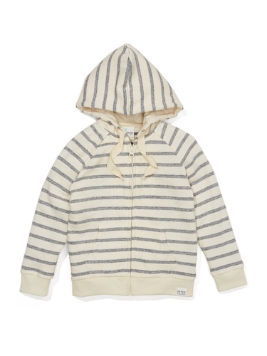P.A. Play Jnr Boys Beach Stripe Hoodie