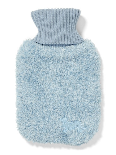 Mini Chambray Hot Water Bottle