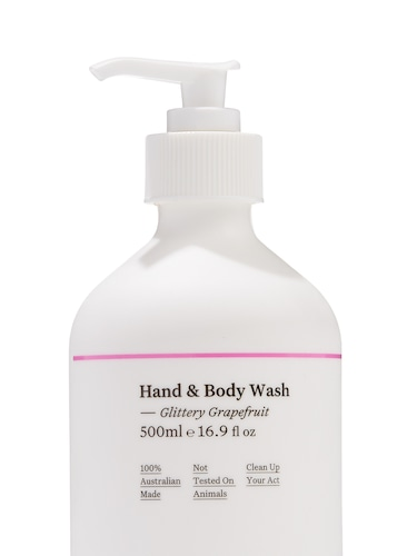 Clean Up Your Act Hand & Body Wash 500Ml